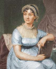 Jane Austen drawing